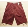 China 1200pcs American order left off cargo shorts,Men Half summer pants excess stock,5 colors wholesale