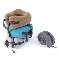 China Soft Memory Foam Travel Neck Pillow U Shape For Neck Support , Lightweight wholesale