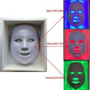 China Led Facial Mask Face Skin Care Light Therapy , Rejuvenating Skin Light Therapy Unit wholesale