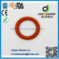 China NBRRed O Rings of size range AS 568,JIS2401 on Short Lead Time with SGS CE ROHS FDA Cetified(O-RINGS-0084) wholesale