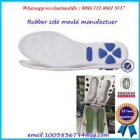 China Sports Shoes Outsole Mold Aluminium / Steel Structure Rust Proof wholesale