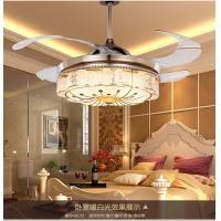 China 8000K 42 Inch Ceiling Fan With Led Light / 1060mm Crystal Led Fan Lights wholesale