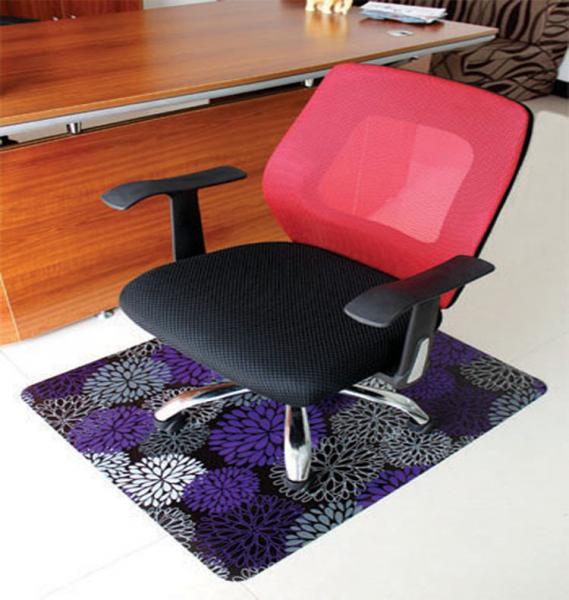 Colored Chair Mats For Carpet Floortex Printed