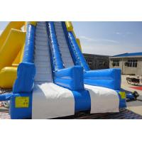 China Big Inflatable Commercial Water Slides , Children Amusement Park Water Slides For Holiday Resort on sale