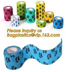 China Cotton Cohesive Bandage sports tape Mixed Color Self Adhesive elastic bandage,Polyurethane Sports Under wrap Foam Tape B wholesale