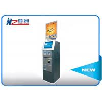 China Cash acceptor touch screen information kiosk for bus airport metro station wholesale