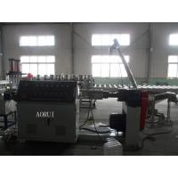 China PE Bottle Flakes Plastic Granules Machine PP Recycle Granules Extrusion Line wholesale