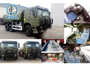 China New Sinotruk Howo 6x6 All Wheel Drive Oil Tank Trucks 251 - 350hp Horsepower wholesale