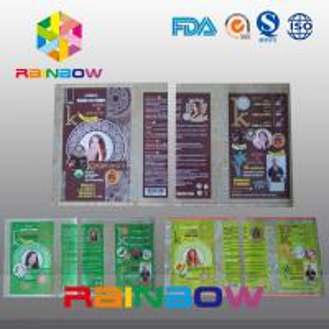 Customized PVC  Shrink Sleeve Labels For Plastic Bottle Packaging