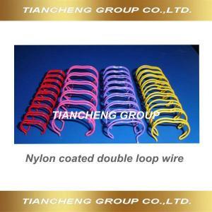 Nylon coated twin wire