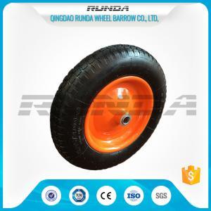 "China 13"" Light Duty Pneumatic Dolly Wheels 3.25/3.00-816mm Axle Hole Centered Hub TUV wholesale"