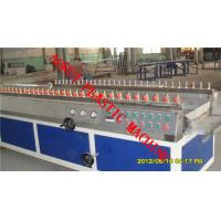 China PVC PE WPC Plastic Profile Extrusion Line For Window / Door Frame on sale