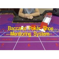 China Baccarat Poker Shoe Baccarat Cheat Device Monitoring For Seeing Poker Face wholesale