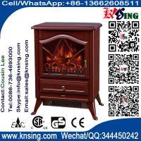 electric fires stoves log burning flame FIREPLACE heater ND-18D2P chimenea Sentik Milton Estufa best price red finish