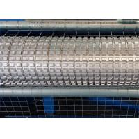 Electric Galvanized Wire Roll Mesh Welding Machine PLC Control For Construction