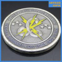 China Excellence Integrity Service 90th Medical Support Squadron antique challenge coin wholesale