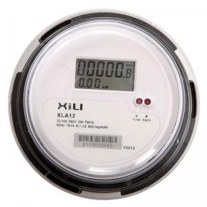 China ANSI Socket Type single phase watt hour meter , energy consumption meter wholesale