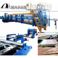 China Engraved Metal Thermal Insulated Wall Panel Machine Line on sale