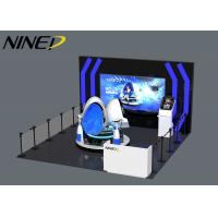 China Arcade Machine Multiplayer Virtual Reality 9D Vr Walker One Stop Vr Theme Park Gaming Machine Battle All In One wholesale