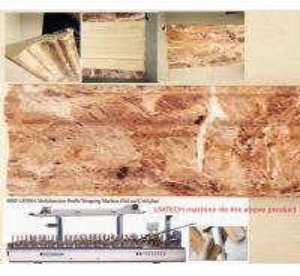 China Home Decoration Wood Photo Frame profile wrapping machine wholesale