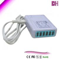 China wholesale party supplies distributors 6 usb travel charger and cable wholesale