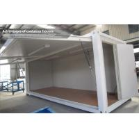 China Small Folding Storage Container Shop / Portable Modular Houses For Kiosk on sale