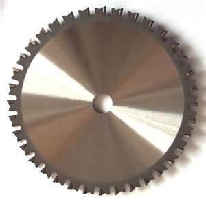 China Metalworking Circular metal chop Saw Blade For Cutting Metal, Steel, Brass on sale