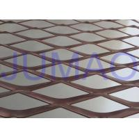 China Perforated Strong Architectural Expanded Metal Flattened With Diamond Holes wholesale