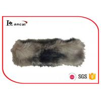 China Mink Faux Fur Neck Ladies Snood Scarves 7×28 cm With Elastic Band wholesale