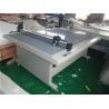 China laser position paper box cutting machine digital preprint cut creasing plot flatbed digital cut vacuum pump wholesale