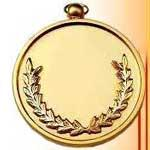 China Cheap Religious Zinc Alloy Gold Medals wholesale