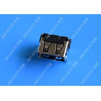 Buy cheap USB 2.0 A Type Female Micro USB Connector Short Body 90 Degree 4 Pin from wholesalers