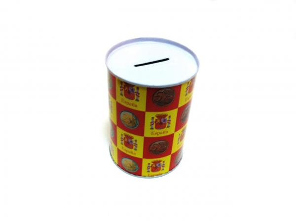 Custom metal piggy bank images for How to open a tin piggy bank