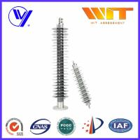 China Medium Voltage Polymer Lightning Arrester With Electrical Terminals wholesale