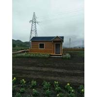 China Mobile Mini Premade Container Homes Light Steel Structure Sentry Box / Kiosk wholesale