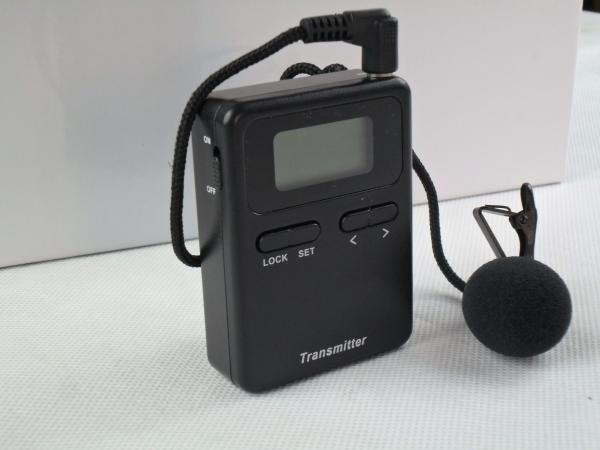 Quality беспроводные системы туристического гида 008А, оборудование аудио проводника долгосрочное для живописного места for sale
