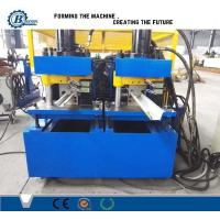China Train Transmission Double Deck Stud And Track Roll Forming Machine Steel Plate Structure wholesale