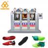 China 3 Stations 6 injectors TPU Football Sole Making Machine 70-100 Pairs Per Hour wholesale