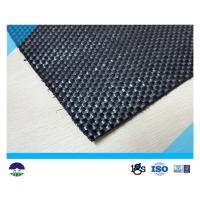 China Black Woven Geotextile for Reinforcement Fabric 87KN / 60KN 390G on sale
