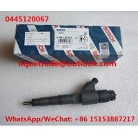 China BOSCH common rail injector 0445120067 , 0 445 120 067 for DEUTZ 04290987 wholesale