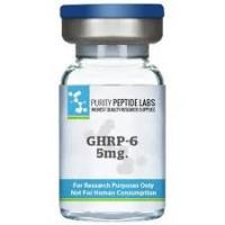 China Bodybuilding Polypeptide Hormones , Lyophilized Fragment GHRP-6 Acetate wholesale