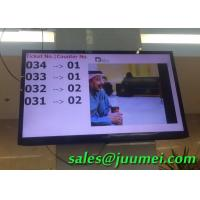 Buy cheap Bank Hospital Queue Display System 17 Inch Wireless Qmatic System from wholesalers