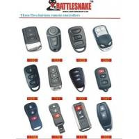 China Auto Accessories Electronics Car Remote Starter Alarm,With 3 Or 2 Buttons Metal Remote on sale