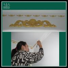 China Chinese manufacturer interior decorative gypsum plaster gesso ceiling rose wholesale
