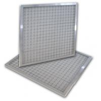 China High performance  256*149.5*57mm Mini - pleat washable air filters  with 100% non - woven wholesale