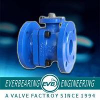 China 2PC PN10 Grey Cast Iron Ball Valve With Air Seal Pressure Flange wholesale