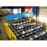 China Longer Life Steel Roof Roll Forming Machine Automatic Metal Roof Forming Machine wholesale