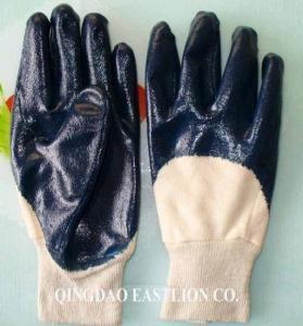 China Nitrile Coated Working Gloves EL-N401 on sale