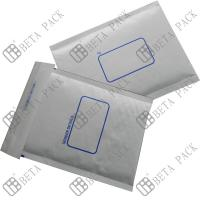 White Self Sealer Hot Melt Glue Bubble Padded Mailer With 1c Printed for sale