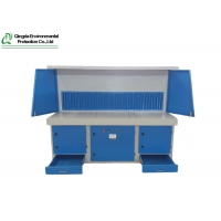 China Compact Structure 3KW 4000m³/H Downdraft Welding Table on sale